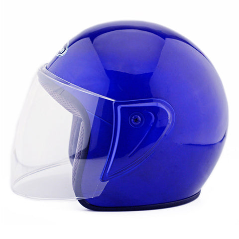 Motorcycle Motor Bike Scooter Safety Helmet 101   blue - Mega Save Wholesale & Retail - 1