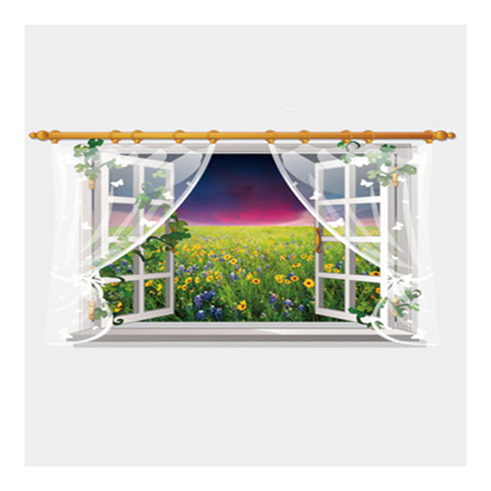 Wallpaper Wall Sticker Scenery Removeable Decoration    SK9020D - Mega Save Wholesale & Retail - 1