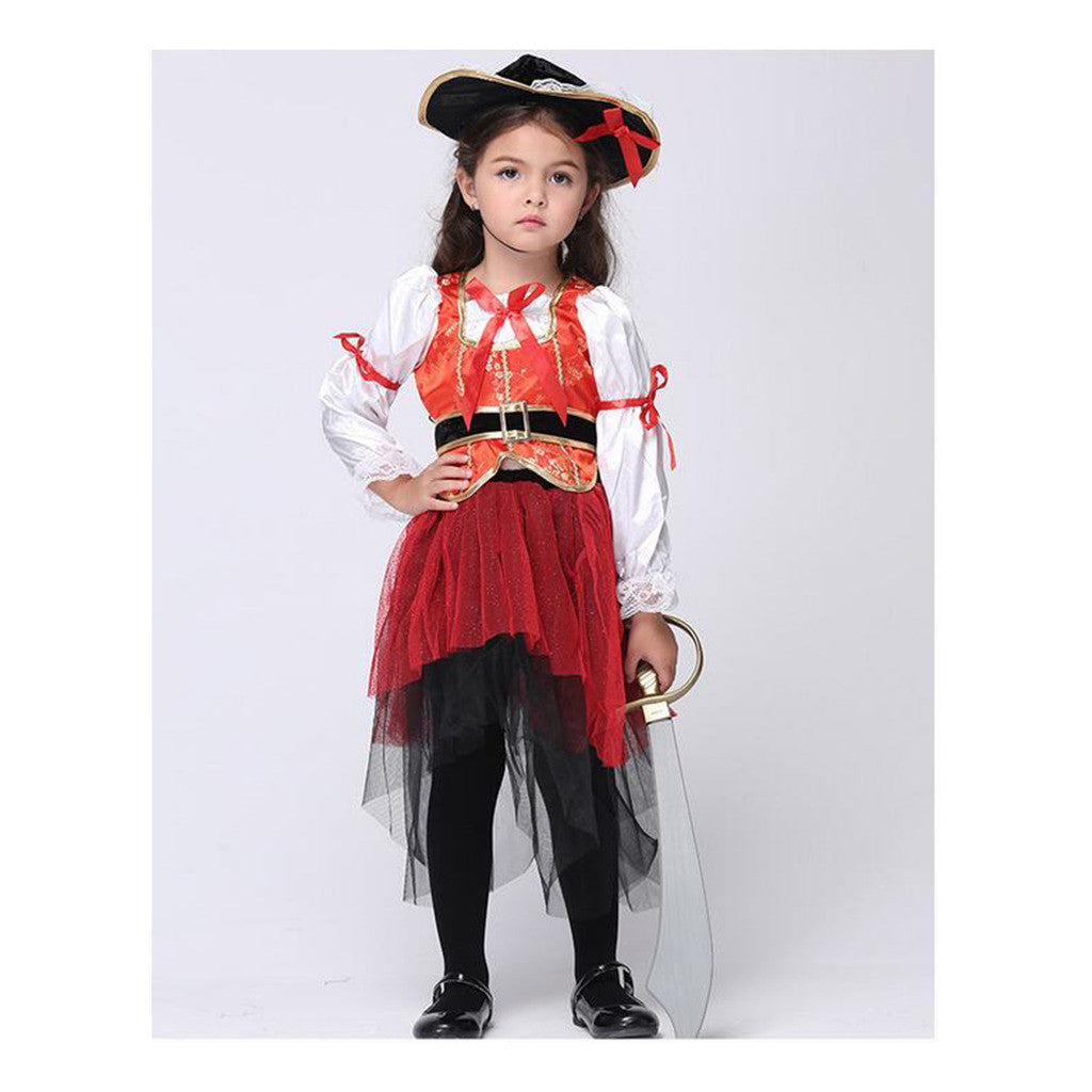 Kid Costume Children Skirt Suit Cosplay Dancing Dress - Mega Save Wholesale & Retail