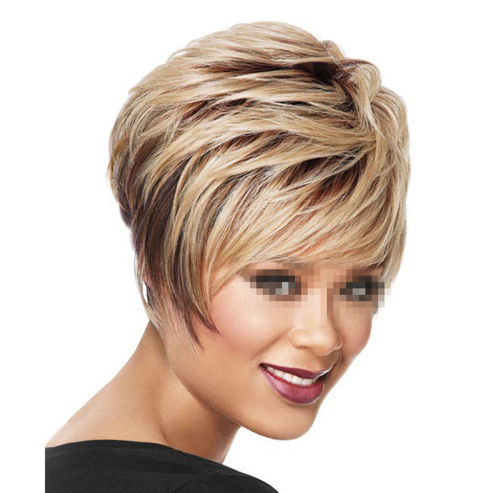 Fashionable Wig Short Curled Hair Cap - Mega Save Wholesale & Retail - 1