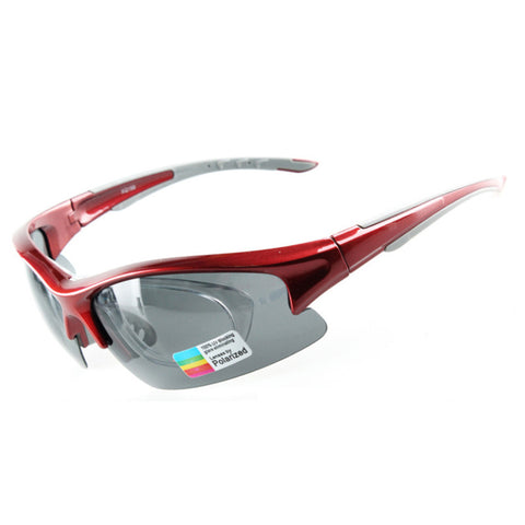 158 Chromatic Sunglasses Sports Riding Polarized Glasses    red