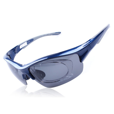 158 Chromatic Sunglasses Sports Riding Polarized Glasses    blue