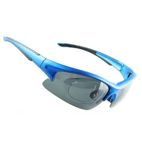 158 Chromatic Sunglasses Sports Riding Polarized Glasses    dull polish blue