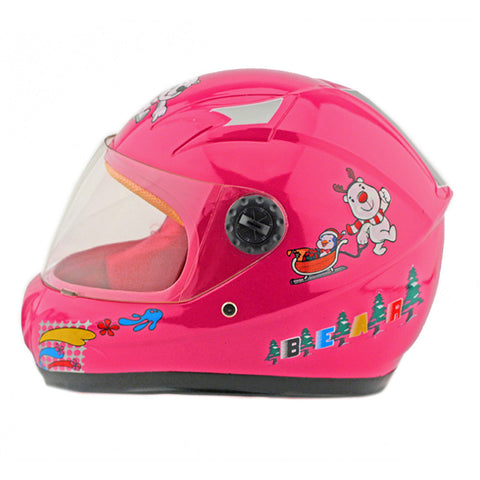 Child Motorcycle Motor Bike Scooter Safety Helmet 602   pink - Mega Save Wholesale & Retail - 1