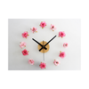 Mediterranean Style DIY Tower Helm Life Buoy Small Fish Clock DIY Clock Wall Clock Silent   red   and   white - Mega Save Wholesale & Retail - 1
