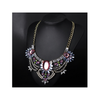 European Big Brand Necklace Boutique Crystal Exaggerated Ornament Fashionable Necklace Sweater Necklace Woman   yellow - Mega Save Wholesale & Retail - 4