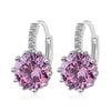 Korean Fashionable Round Zircon Earings - Mega Save Wholesale & Retail