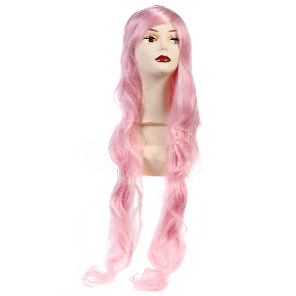 Cosplay Anime Wig Golden Long Straight Hair - Mega Save Wholesale & Retail - 1