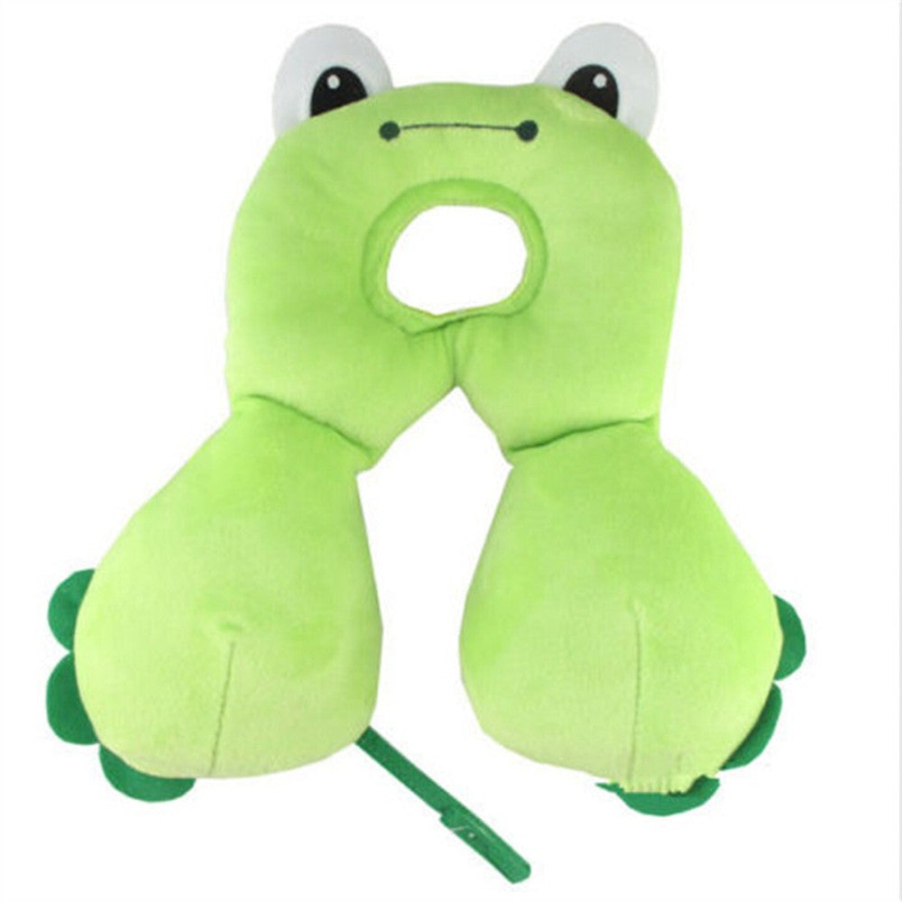 Baby Child Head Neck Support Headrest Travel Car Seat Pillow Cushion Cartoon - Mega Save Wholesale & Retail - 4