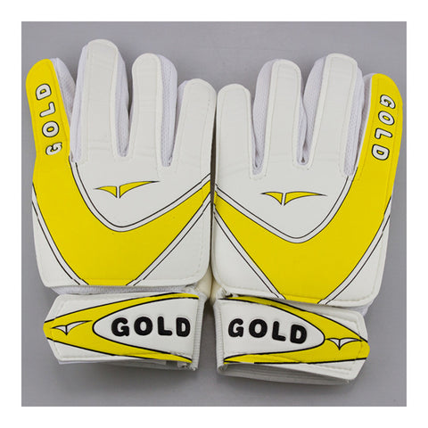 Sutdent Non-slip Latex Goalkeeper Gloves Roll Finger  yellow   8 - Mega Save Wholesale & Retail - 1