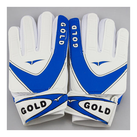 Sutdent Non-slip Latex Goalkeeper Gloves Roll Finger  blue   8 - Mega Save Wholesale & Retail - 1