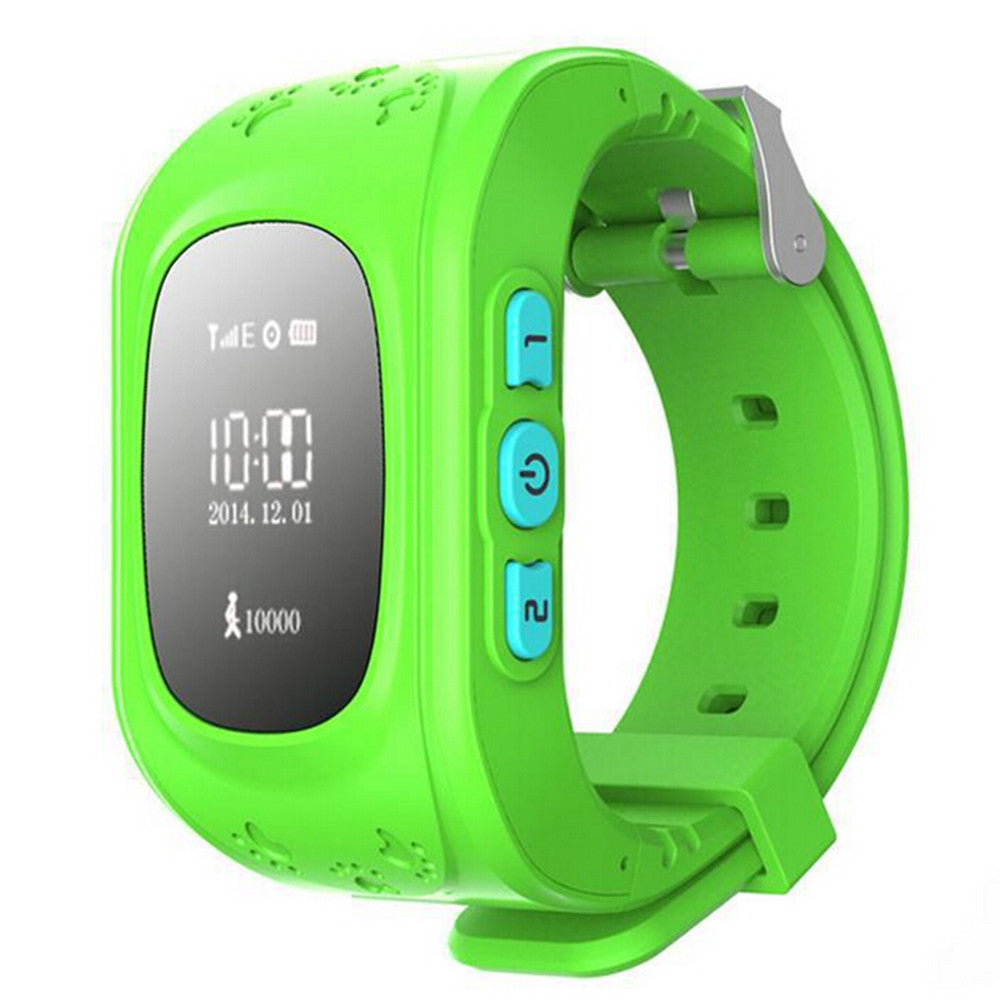 Kid Wrist GPS Tracker Real-time Positioning Tracker Watch SOS   blue - Mega Save Wholesale & Retail - 2