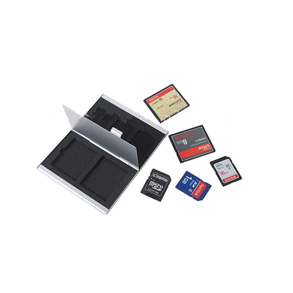 Metal Multifuntional Card Box PSV CF SD TF Memory Card Storage Box KH9    6PSV - Mega Save Wholesale & Retail - 11