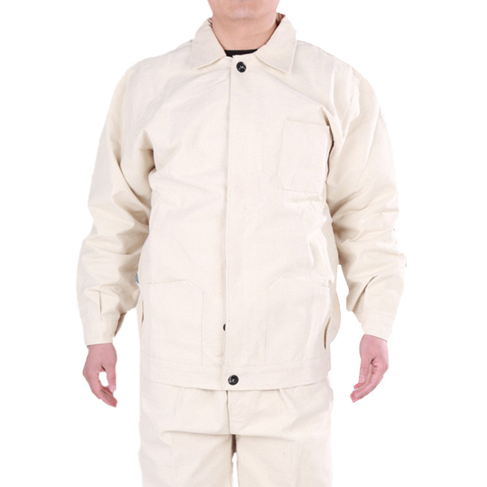 Welder Jacket Male Work Uniform Protection Engineering - Mega Save Wholesale & Retail - 1