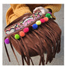 New Winter National Style Embroidery Woman's Single-shoulder Bag Chinese Style Tassel Single-shoulder Bag Messenger Bag 93121   brown - Mega Save Wholesale & Retail - 1