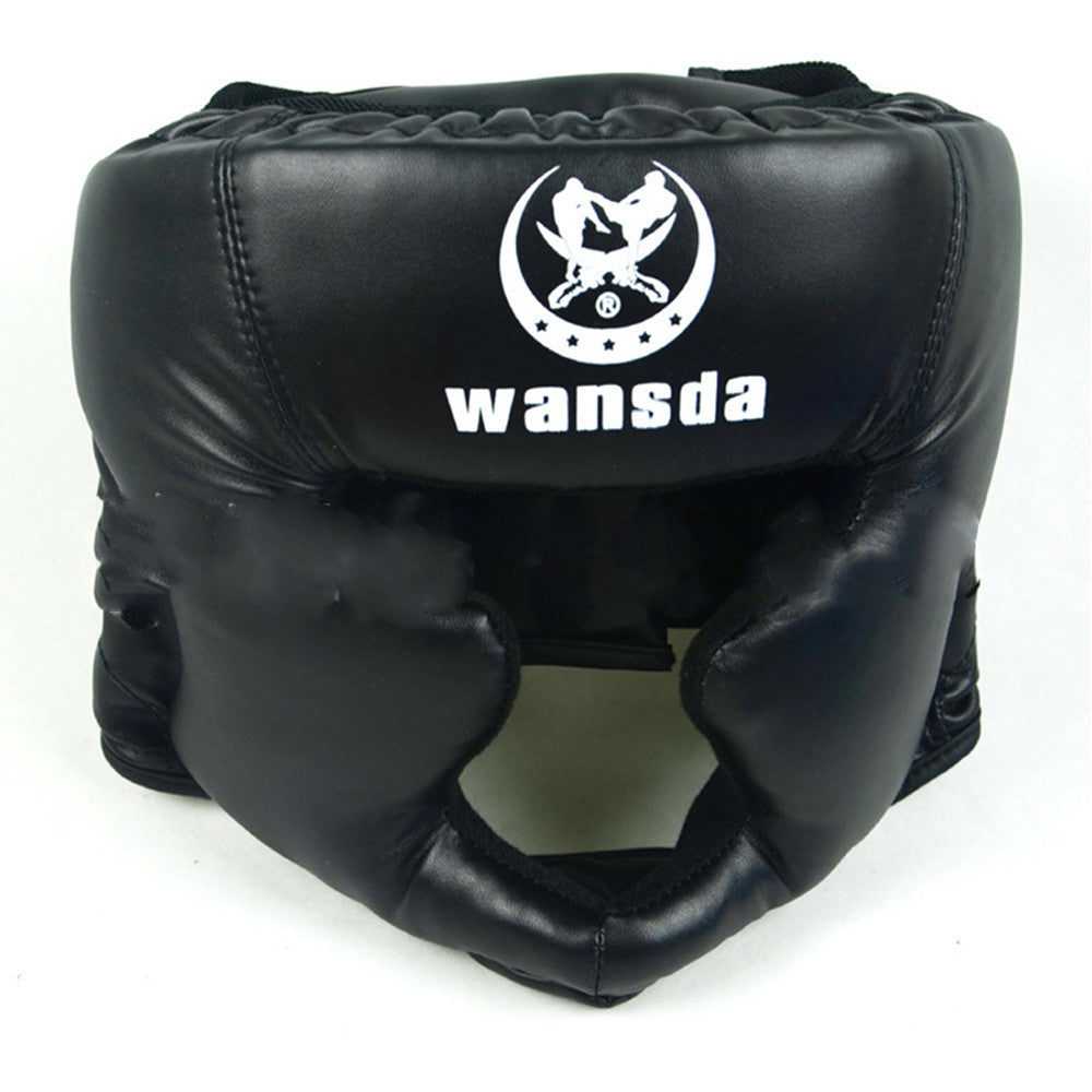 Close Boxing Head Protector Free Combat Helmet MMA UFC Muay Fight Protector - Mega Save Wholesale & Retail - 2