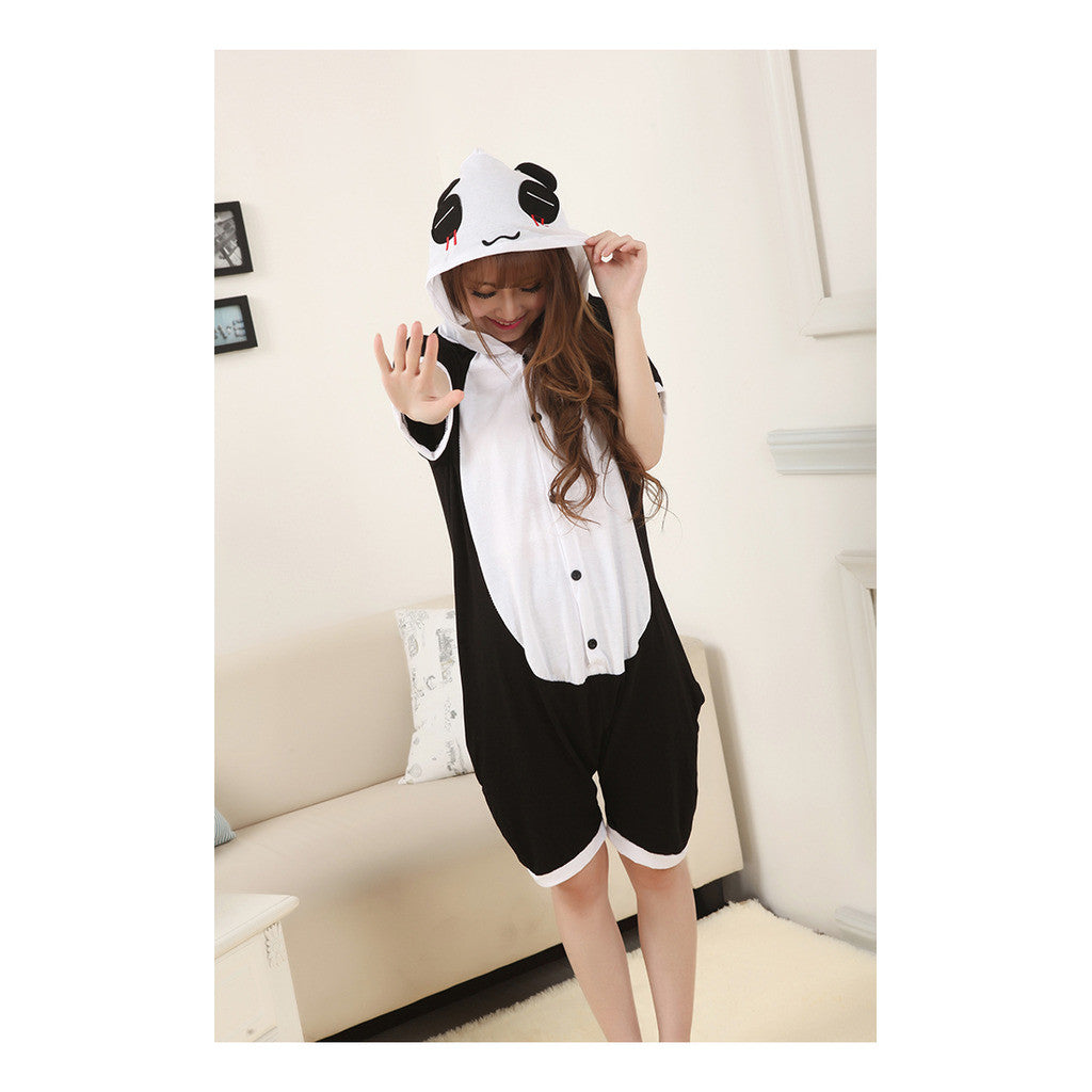 Unisex Adult Pajamas  Cosplay Costume Animal Onesie Sleepwear Suit Summer  The red panda tears - Mega Save Wholesale & Retail