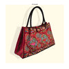 Bohemian Woman's Bag National Style Embroidery Single-shoulder Bag Embroidery Handbag Big Bag Factory(Big Szie)    red base cloud - Mega Save Wholesale & Retail - 1