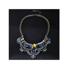 European Big Brand Necklace Boutique Crystal Exaggerated Ornament Fashionable Necklace Sweater Necklace Woman   yellow - Mega Save Wholesale & Retail - 1