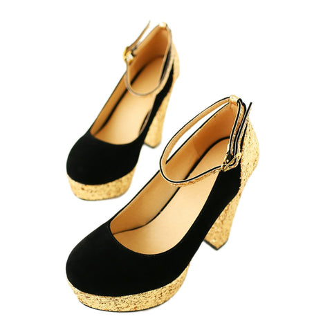 Bridesmaid Wedding Women Shoes  black - Mega Save Wholesale & Retail - 1