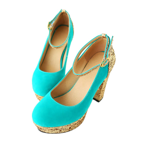 Bridesmaid Wedding Women Shoes  green - Mega Save Wholesale & Retail - 1