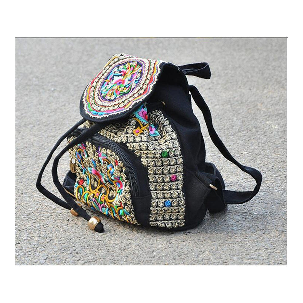 Spring Festival's Gift Yunnan National Style Embroidery Bag Stylish Featured Shoulders Bag Fashionable Woman's Bag   zamioculcas zamiifolia - Mega Save Wholesale & Retail - 1