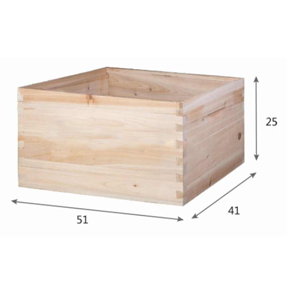 10 Frame Beehive Bee Hive Box Extension Fir Seamless Splicing - Mega Save Wholesale & Retail - 3