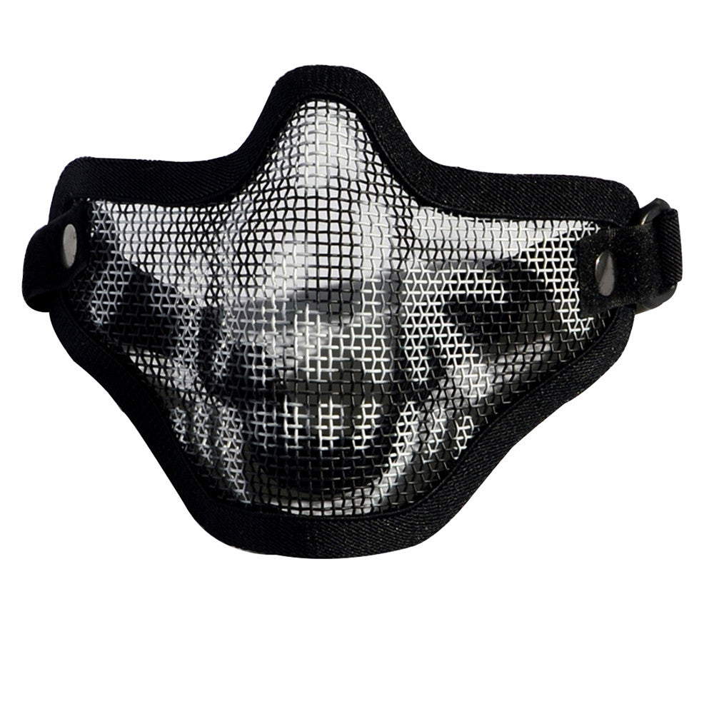 army fan outdoor protection untensil half-face wire protector field operation protection mask sports mask - Mega Save Wholesale & Retail - 1