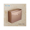 Stainless steel sanitary toilet tissue carton Box  K30 DRAWING GOLD - Mega Save Wholesale & Retail - 1