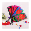 Yunnan Embroidery Woman's Bag Handbag Comestic Bag Coin Case Embroidery Handbag (Big Size)   blue - Mega Save Wholesale & Retail - 1
