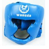 Close Boxing Head Protector Free Combat Helmet MMA UFC Muay Fight Protector - Mega Save Wholesale & Retail - 3