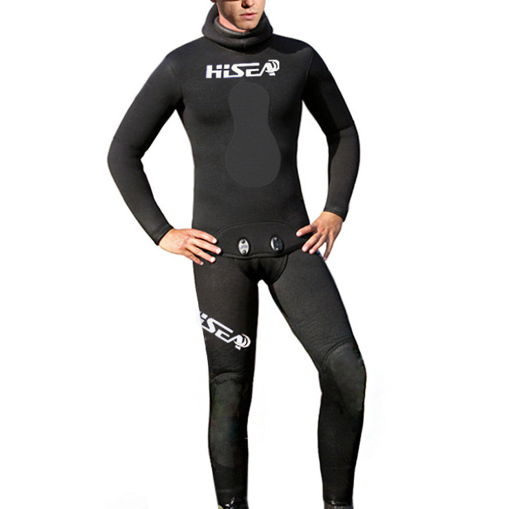 M069 Diving Suit Wetsuit Fishing Surfing    4 M069 3.5mm leather   S - Mega Save Wholesale & Retail - 1