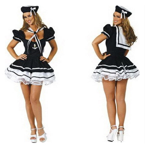 3pcs Suit Lace Sailor Uniform - Mega Save Wholesale & Retail