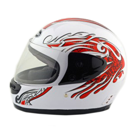 Motorcycle Motor Bike Scooter Safety Helmet 101    white - Mega Save Wholesale & Retail - 1