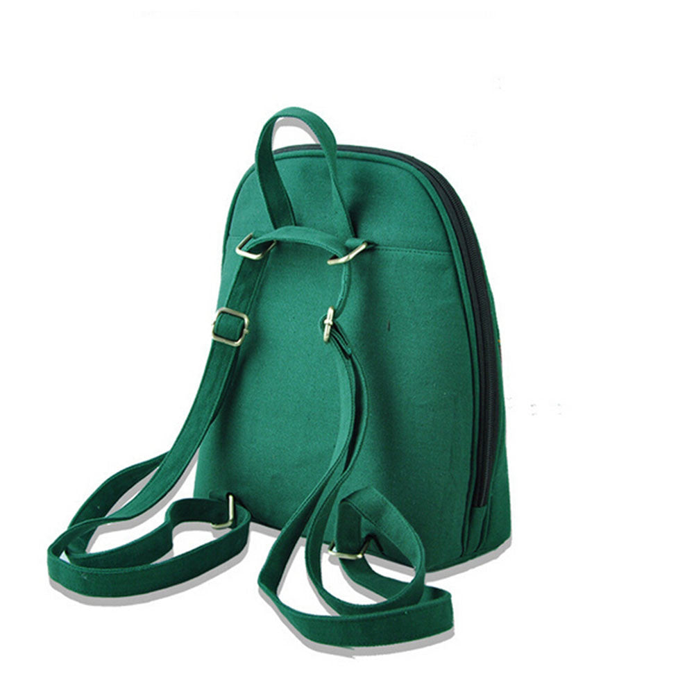 New Yunnan Fashionable National Style Embroidery Bag Stylish Featured Shoulders Bag Fashionable Bag Woman's Bag    green - Mega Save Wholesale & Retail - 2