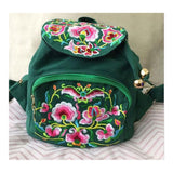 New Yunnan Fashionable Embroidery Bag Stylish Featured Shoulders Bag Fashionable Woman's Bag Bulk 93012   green - Mega Save Wholesale & Retail - 1