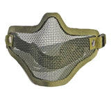 army fan outdoor protection untensil half-face wire protector field operation protection mask sports mask - Mega Save Wholesale & Retail - 5