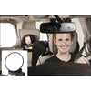 Easy  Rear View Back Seat Mirror Baby/Child rotates 360 degrees   Baby Care Back Seat View Mirror - Mega Save Wholesale & Retail - 4