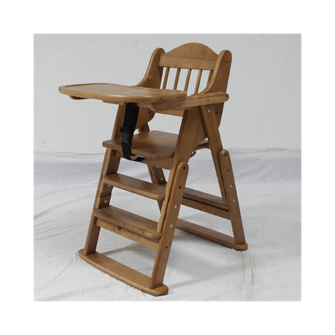 Folding Wooden Baby Highchair High Chair Reclining Booster Seat Recliner Foldable - Mega Save Wholesale u0026  sc 1 st  Mega Save Wholesale u0026 Retail & Folding Wooden Baby Highchair High Chair Reclining Booster Seat ... islam-shia.org
