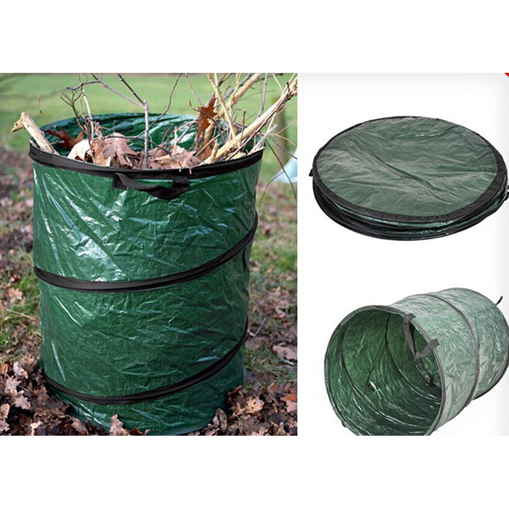 Jumbo Size 16L COLLAPSIBLE  Garden Leaves Basket Trash Garbage Rubbish Bags  Container Can - Mega Save Wholesale & Retail