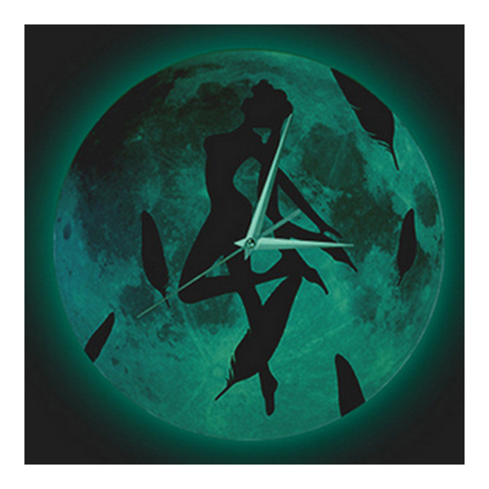 Noctilucent Wolf Simple Wall Clock   cartoon figure - Mega Save Wholesale & Retail - 2