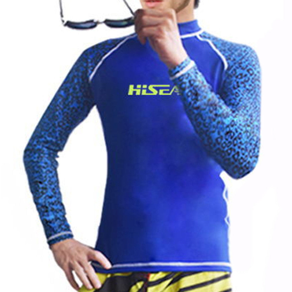 S060 S061 S062 S063 Diving Suit Wetsuit Fishing Surfing    camouflage+blue   S - Mega Save Wholesale & Retail - 1