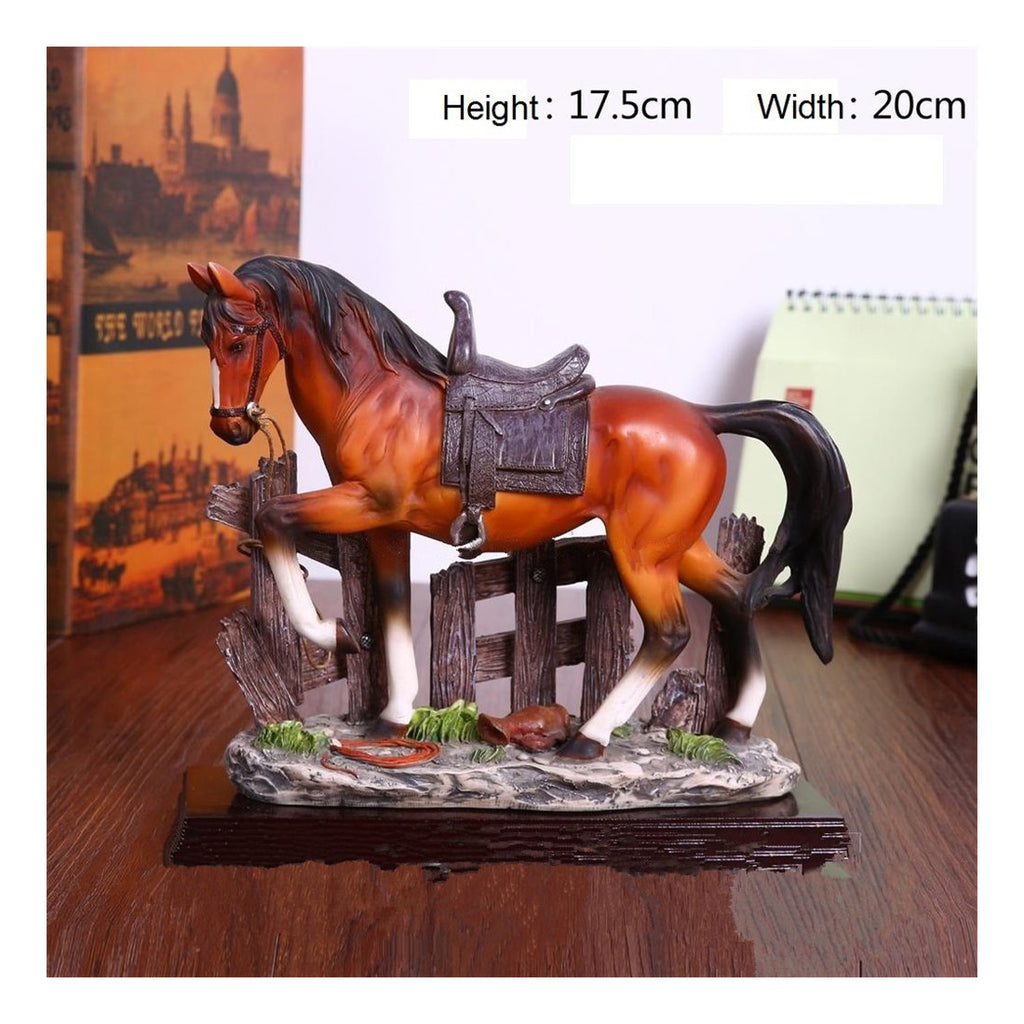 New realistic resin wild animals-horse - Mega Save Wholesale & Retail