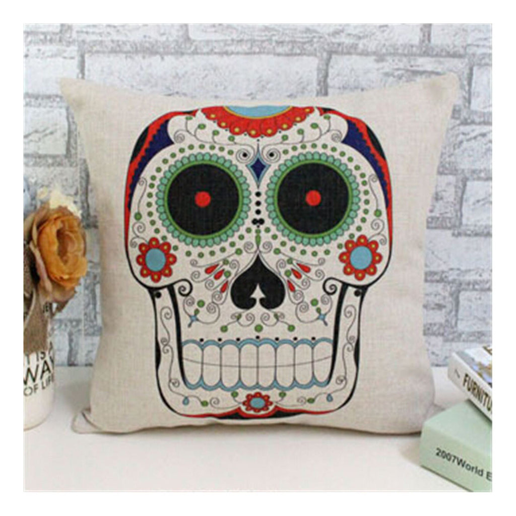 PP cotton cloth hold Pillow cotton pillow cushions cartoon skull - Mega Save Wholesale & Retail