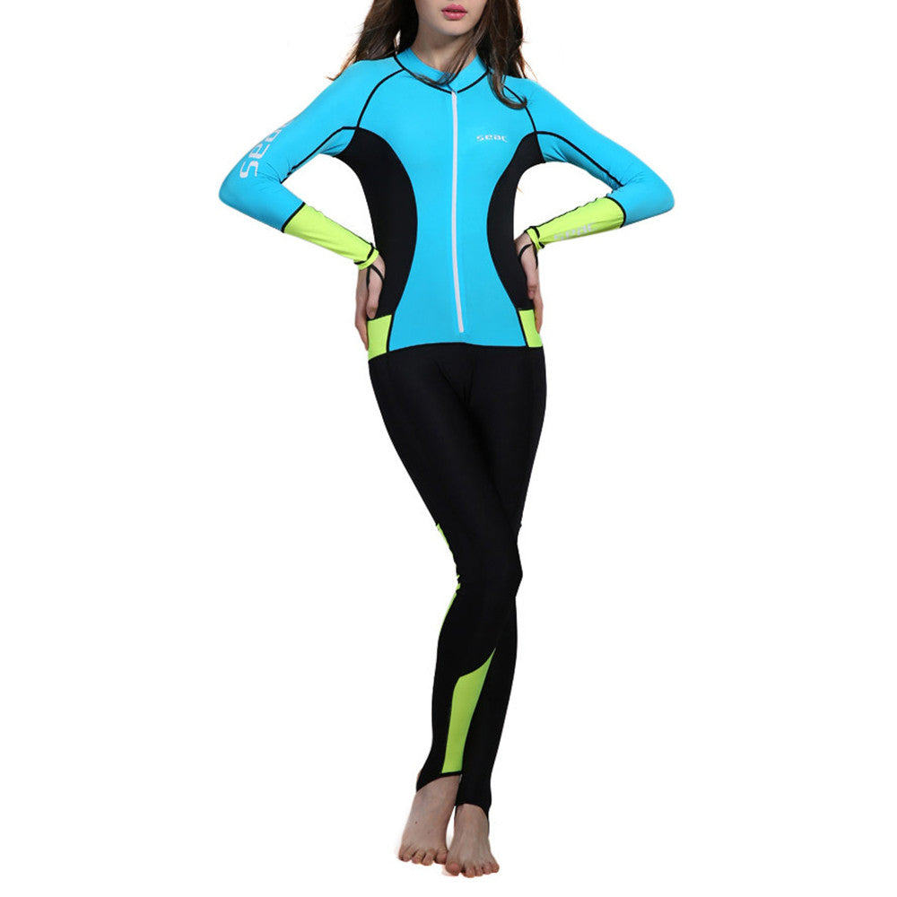 S008 UPF50+ Diving Suit Wetsuit Surfing   S008 unhooded   XS - Mega Save Wholesale & Retail - 1