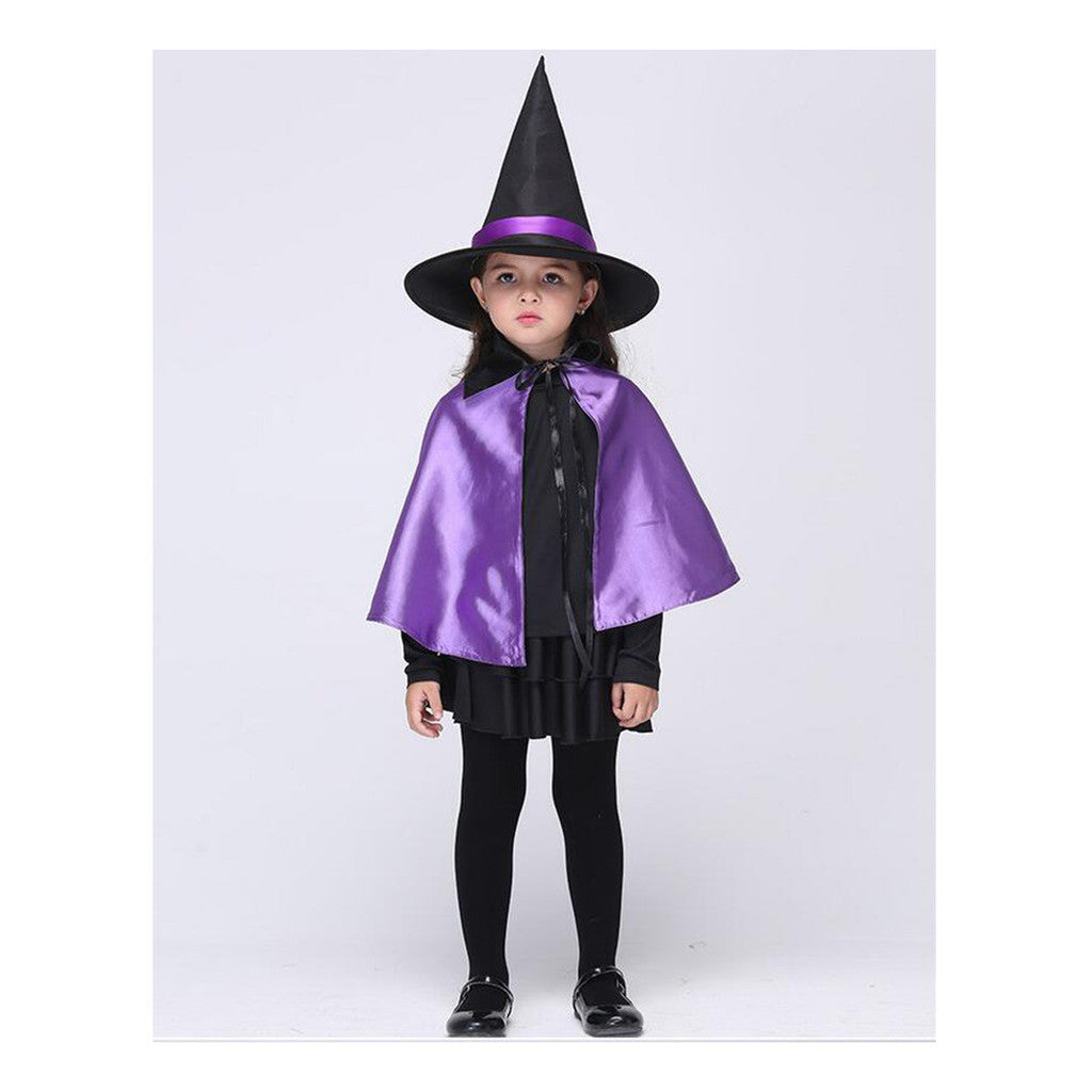 Children Kid Girl Costume Witch Suit Comestics Dancing Party Cosplay Attire Dress - Mega Save Wholesale & Retail