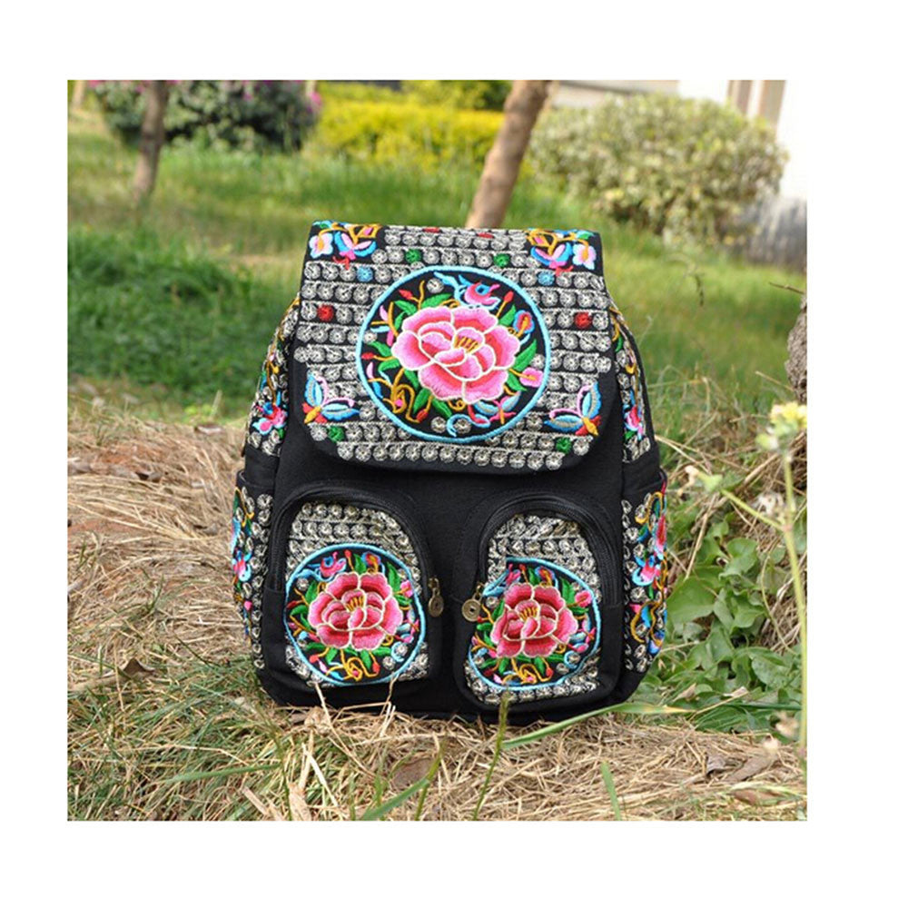 New Yunnan Fashionable Natioanl Style Embroidery Bag Stylish Featured Shoulders Bag Fashionable Woman's Bag Bulk93019   zamioculcas zamiifolia with flower - Mega Save Wholesale & Retail - 1
