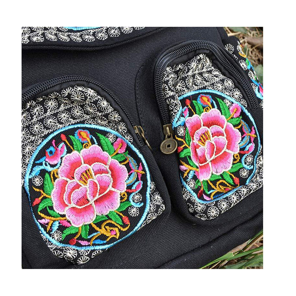 New Yunnan Fashionable Natioanl Style Embroidery Bag Stylish Featured Shoulders Bag Fashionable Woman's Bag Bulk93019   zamioculcas zamiifolia with flower - Mega Save Wholesale & Retail - 3