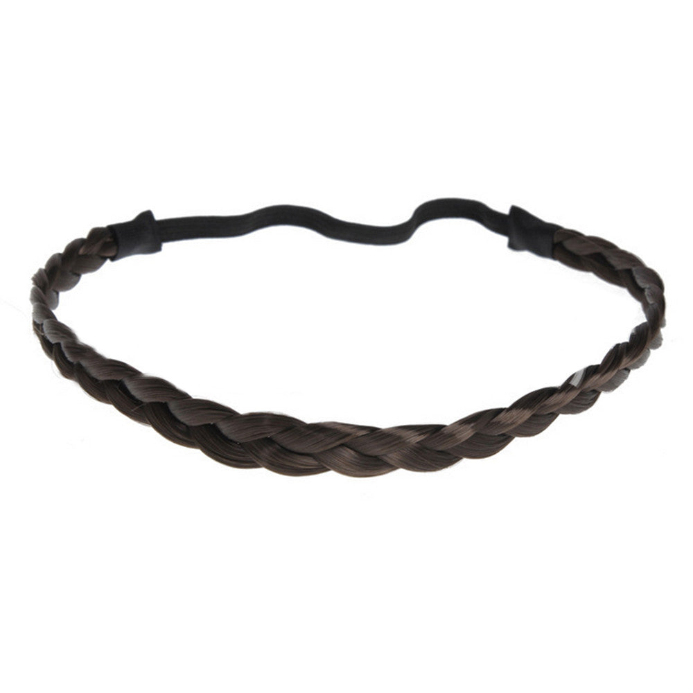 Bohemian Braid Hair Band Wig   chocolate - Mega Save Wholesale & Retail