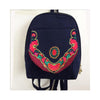 New Yunnan Fashionable National Style Embroidery Bag Stylish Featured Shoulders Bag Fashionable Bag Woman's Bag   navy - Mega Save Wholesale & Retail - 1